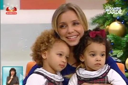 Filha de Luciana Abreu internada