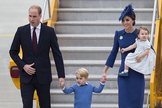 Kate e William em visita pelo Canadá