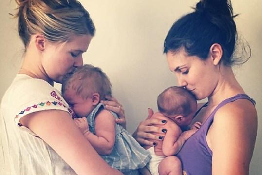 Daniela Ruah partilha foto ternurenta com filha e sobrinha
