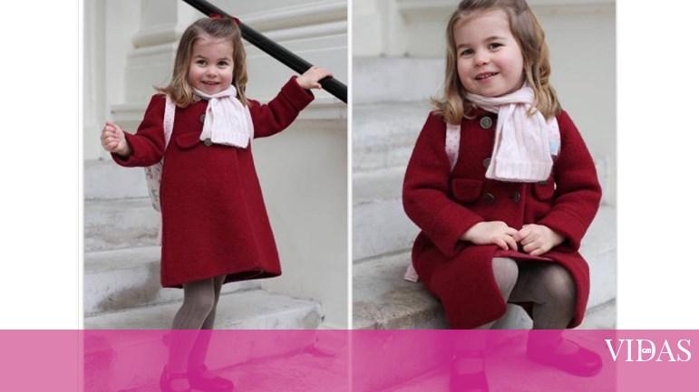 O Primeiro Sorriso Do Meu Dia Aparece Qu: Princesa Carlota Derrete Corações No Primeiro Dia De