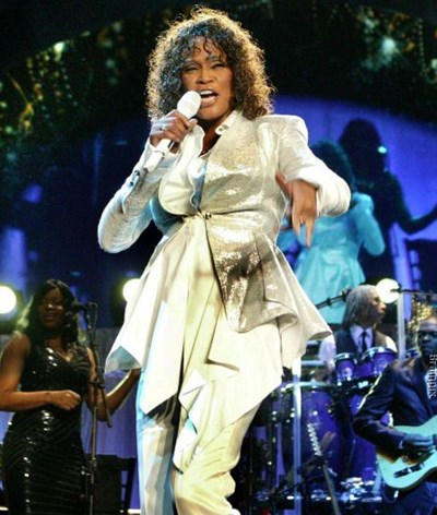 Whitney Houston de regresso aos palcos