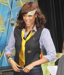 Tyra Banks visita 'Good Morning America'