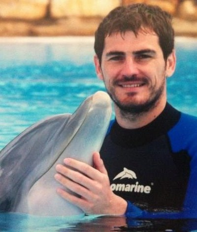 Iker Casillas de férias no Algarve