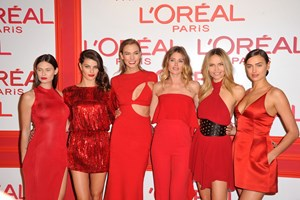 Celebridades na 'Red Obsession Party'