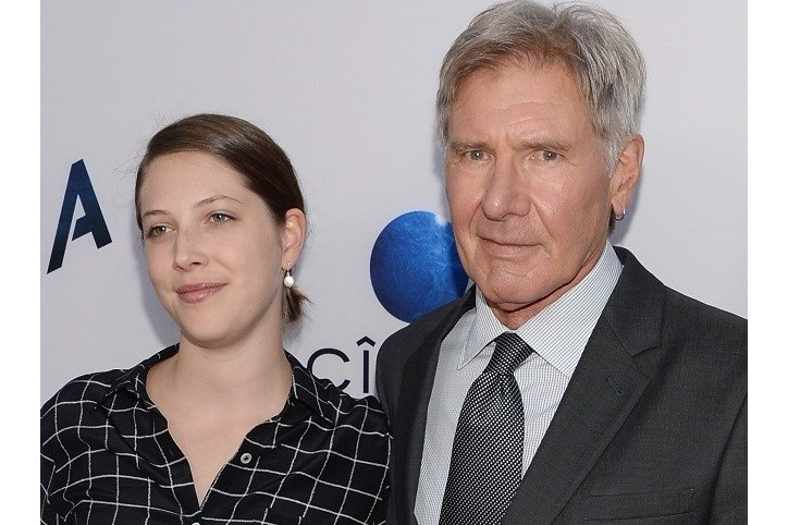 harrison ford, georgia, filha