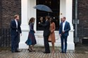 William, Kate Middleton, Harry, Duques de Cambridge, realeza, monarquia, recebe, casal, Barack Obama, Michelle Obama, presidente dos Estados Unidos, Inglaterra, Palácio Kensington