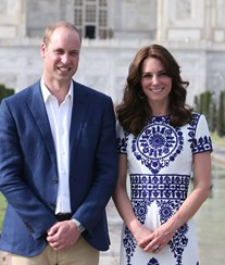 Kate Middleton e príncipe William são o casal mais influente