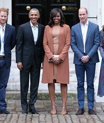 Obama recebidos por William e Kate