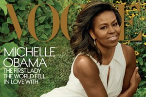 Michelle Obama glamorosa na 'Vogue'