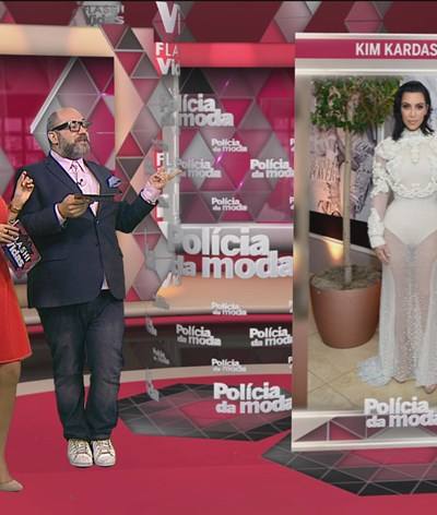 Polícia da moda comenta looks do evento 'Los Angeles Fashion Awards'