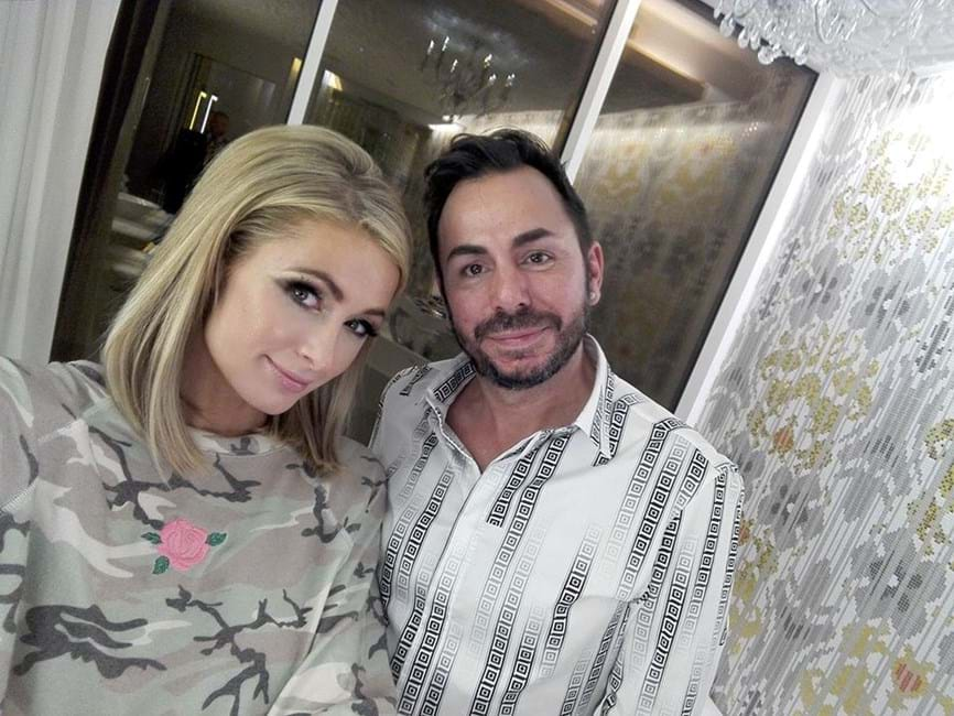 Henrique Salvador, Paris Hilton
