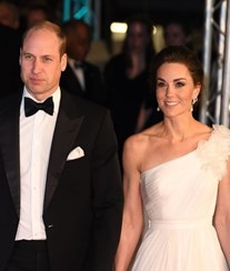 Kate e William brilham nos prémios Bafta