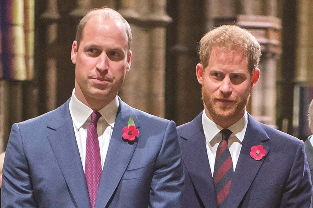 William e Harry fizeram as pazes