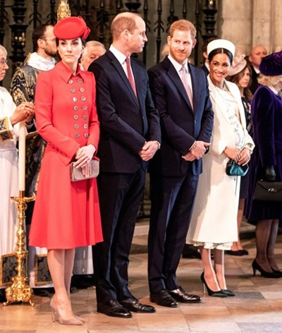 Harry e Meghan deixam de seguir Kate e William no Instagram