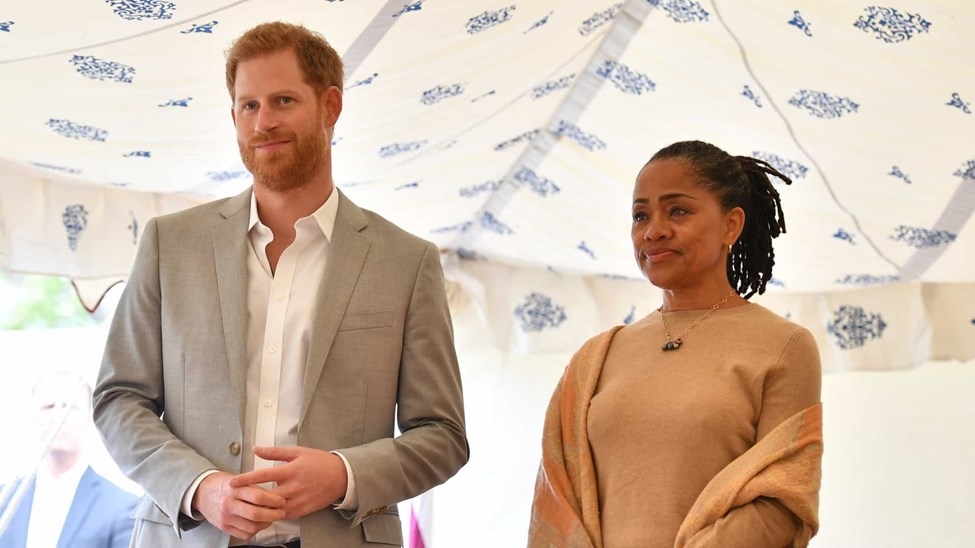 Harry, Doria Ragland