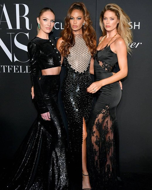 Candice Swanepoel, Joan Smalls e Doutzen Kroes