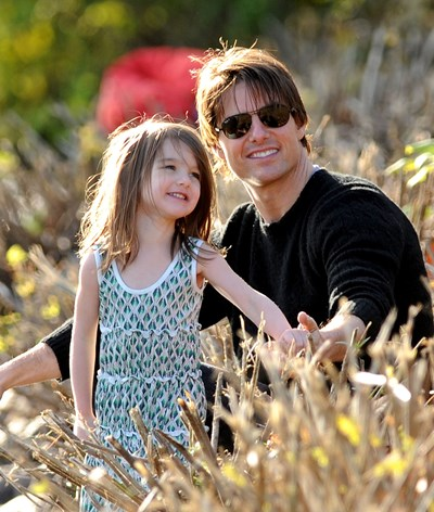 Tom Cruise reaproxima-se da filha