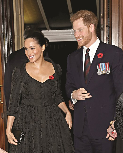 Meghan Markle com Harry