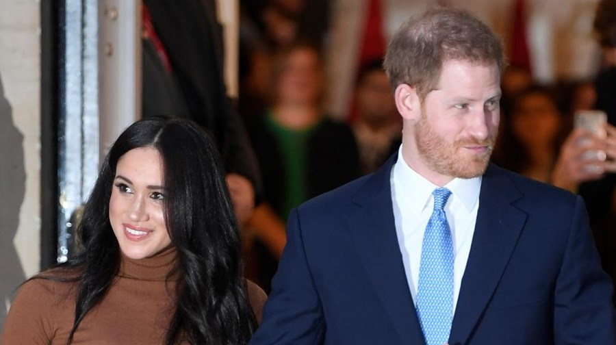 Harry e Meghan Markle regressam a Londres