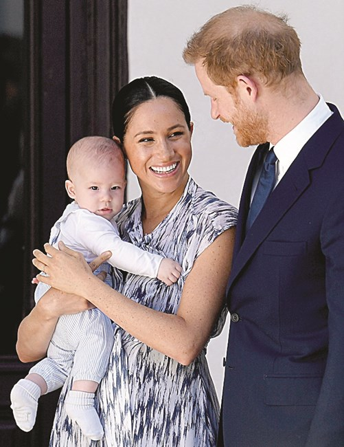 Archie, Meghan, Harry