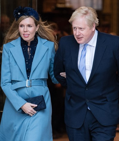 Coronavírus interrompe romance de Boris Johnson