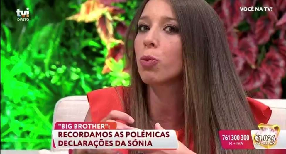 Sónia do 'Big Brother' esteve no 'Você na TV'