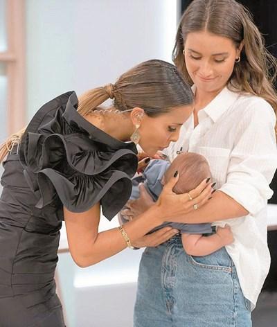 Irmã de Carolina Patrocínio já amamentou o seu filho