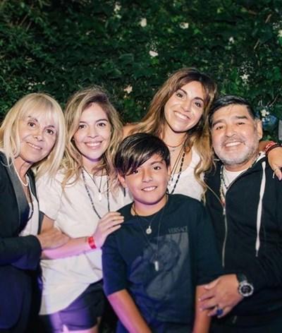 Diego Maradona perdoou as filhas antes de morrer