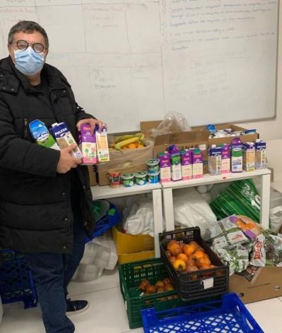 José Carlos Malato faz voluntariado para apoiar os sem abrigo